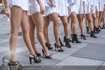Opening - Camicissima - Sa 03.10.2020 - Gruppenfoto Models in der Fußgängerzone13