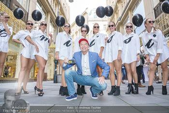 Opening - Camicissima - Sa 03.10.2020 - Heribert KASPER mit Models in der Fußgängerzone, Gruppenfoto21