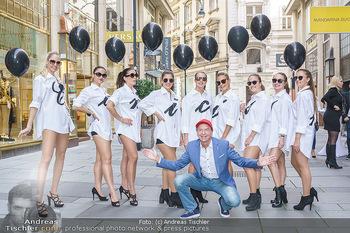 Opening - Camicissima - Sa 03.10.2020 - Heribert KASPER mit Models in der Fußgängerzone, Gruppenfoto22