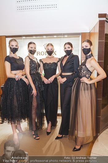 Silvia Schneider- the black collection - Bucherer, Wien - Mo 05.10.2020 - Models mit Corona Schutzmaske93