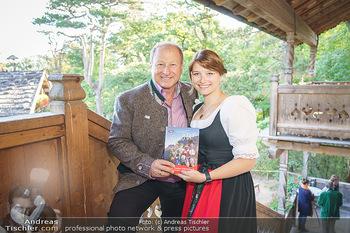 Harry Prünster Buchpräsentation - Tirolerhof Schönbrunn - Do 08.10.2020 - Harry PRÜNSTER mit Tochter Vera12