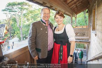 Harry Prünster Buchpräsentation - Tirolerhof Schönbrunn - Do 08.10.2020 - Harry PRÜNSTER mit Tochter Vera13