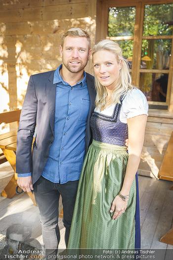 Harry Prünster Buchpräsentation - Tirolerhof Schönbrunn - Do 08.10.2020 - Georg FECHTER mit Schwester Niko18