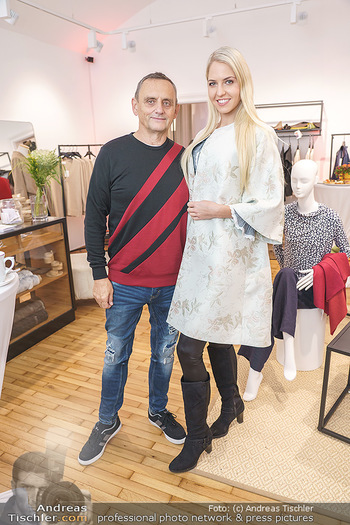 Grand Opening - Modeatelier Alina Dax - Sa 17.10.2020 - Beatrice KÖRMER, Heimo TURIN6