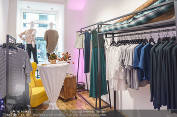 Grand Opening - Modeatelier Alina Dax - Sa 17.10.2020 - Shop von innen, Verkaufsraum21