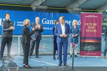 Dominic Thiem eröffnet ATC Akademie - Tennishalle Traiskirchen - Do 22.10.2020 - 12
