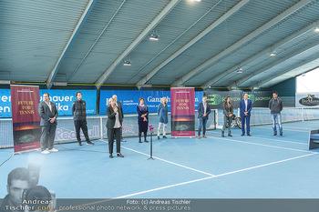 Dominic Thiem eröffnet ATC Akademie - Tennishalle Traiskirchen - Do 22.10.2020 - 13