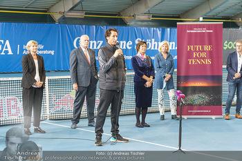 Dominic Thiem eröffnet ATC Akademie - Tennishalle Traiskirchen - Do 22.10.2020 - 19