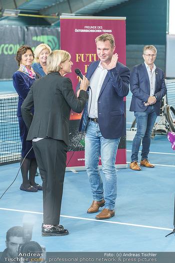Dominic Thiem eröffnet ATC Akademie - Tennishalle Traiskirchen - Do 22.10.2020 - Andreas BABLER (Bürgermeister Traiskirchen)20