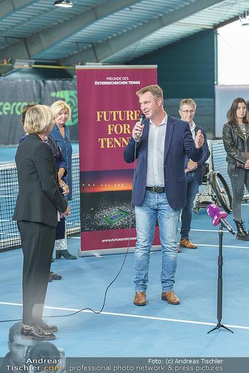 Dominic Thiem eröffnet ATC Akademie - Tennishalle Traiskirchen - Do 22.10.2020 - Andreas BABLER (Bürgermeister Traiskirchen)21