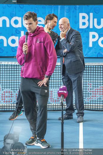 Dominic Thiem eröffnet ATC Akademie - Tennishalle Traiskirchen - Do 22.10.2020 - Wolfgang und Dominic THIEM, Manfred AINEDTER27