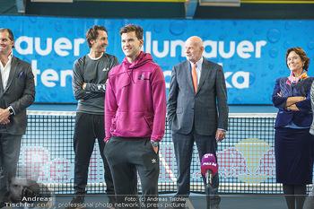 Dominic Thiem eröffnet ATC Akademie - Tennishalle Traiskirchen - Do 22.10.2020 - Wolfgang und Dominic THIEM, Manfred AINEDTER28