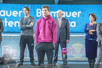 Dominic Thiem eröffnet ATC Akademie - Tennishalle Traiskirchen - Do 22.10.2020 - Wolfgang und Dominic THIEM, Manfred AINEDTER29