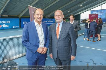 Dominic Thiem eröffnet ATC Akademie - Tennishalle Traiskirchen - Do 22.10.2020 - Ernst MINAR, Manfred AINEDTER34