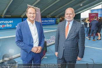 Dominic Thiem eröffnet ATC Akademie - Tennishalle Traiskirchen - Do 22.10.2020 - Ernst MINAR, Manfred AINEDTER35