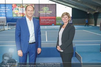 Dominic Thiem eröffnet ATC Akademie - Tennishalle Traiskirchen - Do 22.10.2020 - Ernst MINAR, Barbara MUHR36