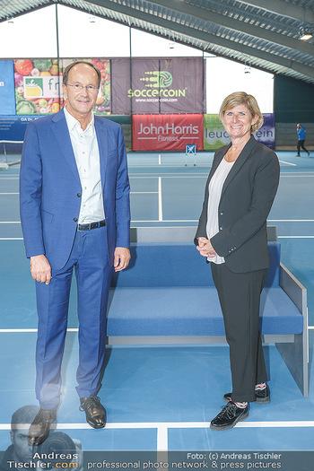 Dominic Thiem eröffnet ATC Akademie - Tennishalle Traiskirchen - Do 22.10.2020 - Ernst MINAR, Barbara MUHR37