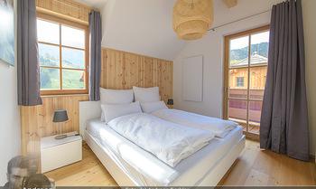 Neue Chalets am Schneeberg - Puchberg am Schneeberg - Fr 23.10.2020 - gemütliches Schlafzimmer, Holz, Wärme, Betten, hell27