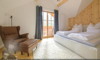Neue Chalets am Schneeberg - Puchberg am Schneeberg - Fr 23.10.2020 - gemütliches Schlafzimmer, Holz, Wärme, Betten, hell44