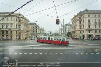 Big Bus Citytour - Wien - So 25.10.2020 - alte historische Straßenbahn am Schwarzenbergplatz Wien ohne Au3