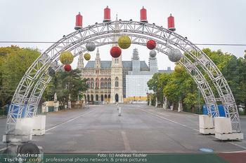 Big Bus Citytour - Wien - So 25.10.2020 - Vorbereitungen für Weihnachtsmarkt Adventmarkt Christkindlmarkt15