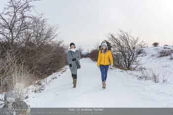 Spaziergang mit Kristina Inhof - Perchtoldsdorfer Heide - Di 19.01.2021 - Kristina INHOF, Romina COLERUS6