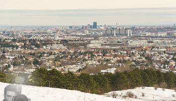 Spaziergang mit Kristina Inhof - Perchtoldsdorfer Heide - Di 19.01.2021 - Blick über Wien von der Perchtoldsdorfer Heide, Alt-Erlaa, Wien29