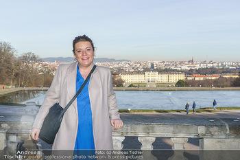 Spaziergang mit Verena Schneider - Schönbrunn, Wien - Mi 20.01.2021 - Verena SCHNEIDER4