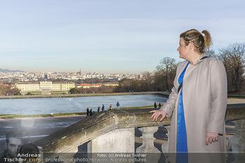 Spaziergang mit Verena Schneider - Schönbrunn, Wien - Mi 20.01.2021 - Verena SCHNEIDER6