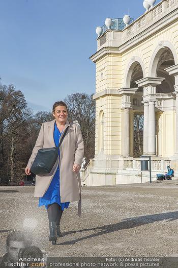 Spaziergang mit Verena Schneider - Schönbrunn, Wien - Mi 20.01.2021 - Verena SCHNEIDER8