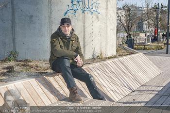 Spaziergang mit Michael Steinocher - Donaukanal Wien - Mi 20.01.2021 - Michael STEINOCHER1