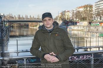 Spaziergang mit Michael Steinocher - Donaukanal Wien - Mi 20.01.2021 - Michael STEINOCHER8