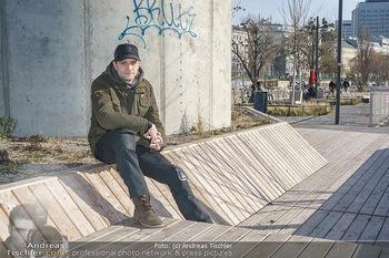 Spaziergang mit Michael Steinocher - Donaukanal Wien - Mi 20.01.2021 - Michael STEINOCHER11