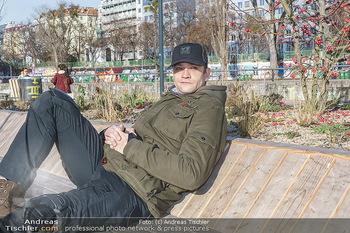 Spaziergang mit Michael Steinocher - Donaukanal Wien - Mi 20.01.2021 - Michael STEINOCHER12