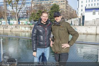Spaziergang mit Michael Steinocher - Donaukanal Wien - Mi 20.01.2021 - Clemens TRISCHLER, Michael STEINOCHER21