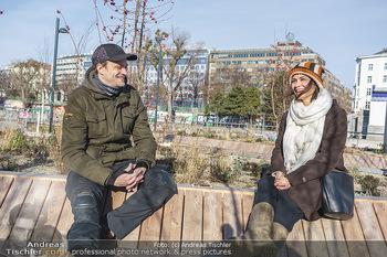 Spaziergang mit Michael Steinocher - Donaukanal Wien - Mi 20.01.2021 - Michael STEINOCHER im Interview mit Romina COLERUS23