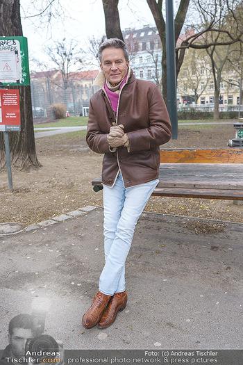 Spaziergang mit Alfons Haider - Wien - Di 02.02.2021 - Alfons HAIDER entlang der Goldschlagstraße3