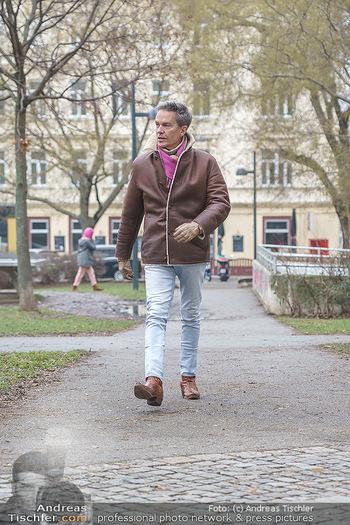 Spaziergang mit Alfons Haider - Wien - Di 02.02.2021 - Alfons HAIDER entlang der Goldschlagstraße4