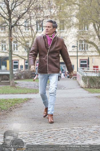 Spaziergang mit Alfons Haider - Wien - Di 02.02.2021 - Alfons HAIDER entlang der Goldschlagstraße5