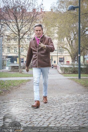 Spaziergang mit Alfons Haider - Wien - Di 02.02.2021 - Alfons HAIDER entlang der Goldschlagstraße7