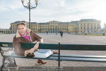 Spaziergang mit Alfons Haider - Wien - Di 02.02.2021 - Alfons HAIDER in Schönbrunn21