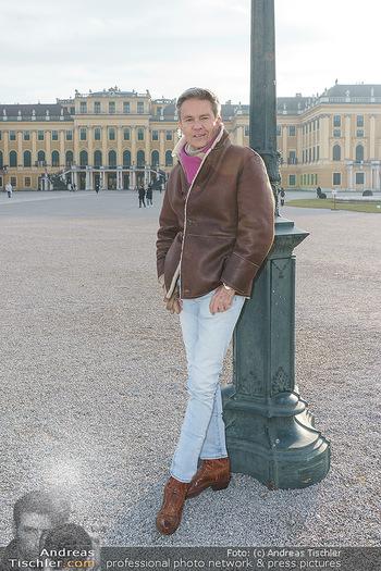 Spaziergang mit Alfons Haider - Wien - Di 02.02.2021 - Alfons HAIDER in Schönbrunn23