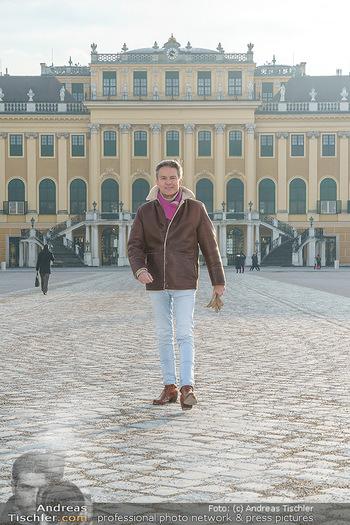 Spaziergang mit Alfons Haider - Wien - Di 02.02.2021 - Alfons HAIDER in Schönbrunn25