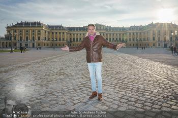 Spaziergang mit Alfons Haider - Wien - Di 02.02.2021 - Alfons HAIDER in Schönbrunn28