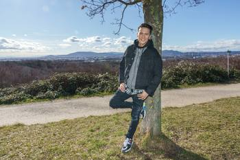 Spaziergang mit Vincent Bueno - Wienerberg, Wien - Do 04.02.2021 - Vincent BUENO1