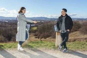 Spaziergang mit Vincent Bueno - Wienerberg, Wien - Do 04.02.2021 - Vincent BUENO interviewt von Romina COLERUS3