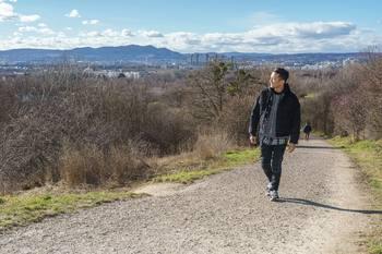 Spaziergang mit Vincent Bueno - Wienerberg, Wien - Do 04.02.2021 - Vincent BUENO4