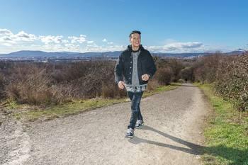 Spaziergang mit Vincent Bueno - Wienerberg, Wien - Do 04.02.2021 - Vincent BUENO5