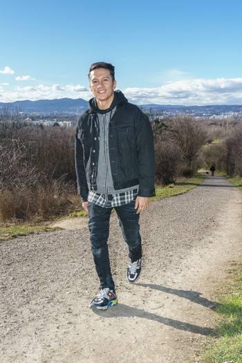 Spaziergang mit Vincent Bueno - Wienerberg, Wien - Do 04.02.2021 - Vincent BUENO7