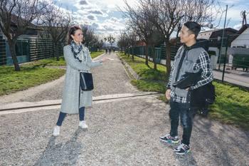 Spaziergang mit Vincent Bueno - Wienerberg, Wien - Do 04.02.2021 - Vincent BUENO interviewt von Romina COLERUS24
